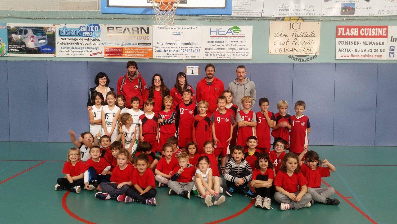 Les Pitchouns Du Scan En Plateau Sporting Club Audaux Navarrenx
